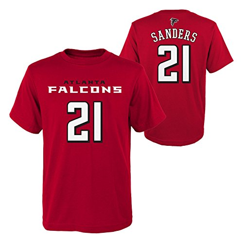 Outerstuff NFL Atlanta Falcons Youth Boys Retired Player Mainliner Name Short Sleeve Tee, S(8), ()
