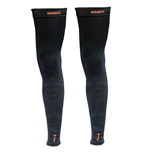 INCREDIWEAR LEG SLEEVE Comes in Pairs XL Black by INCREDIWEAR