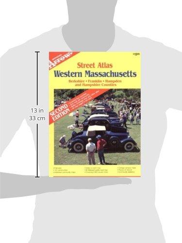 Western Massachusetts Atlas (Official Arrow Street Atlas)