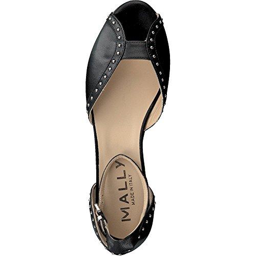 Mally - Tira de tobillo Mujer negro