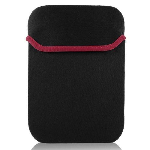 DealMux 13inch 13.3inch Black Reversible Neoprene Laptop Sleeve Bag Case for -