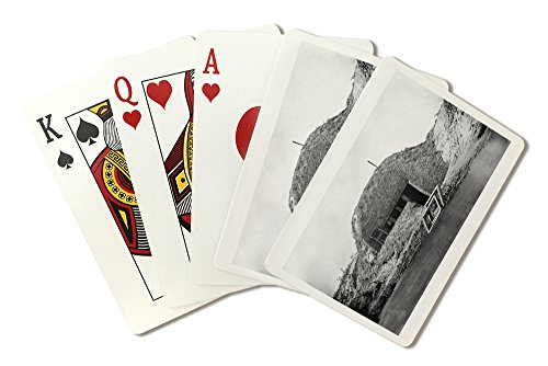 (Morris Island, SC - Bombproof Telegraph Building Civil War Photograph (Playing Card Deck - 52 Card Poker Size with Jokers) )