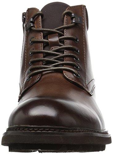 Kenneth Cole New York Mens Design 10445 Combat Boot Cognac FXCBSkdR
