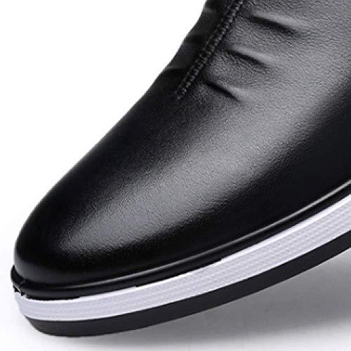 Business Scarpe in Scarpe Uomo da Giovent Casual Pelle Rotonda Pelle Testa EqnTP