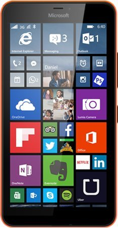 Microsoft Lumia 640 XL LTE Dual Sim Orange 8GB (RM-1096) Unlocked international model- no warranty