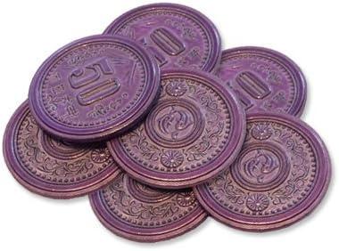 Scythe Promo #9 -7 Metal $50 Coins: Amazon.es: Juguetes y juegos