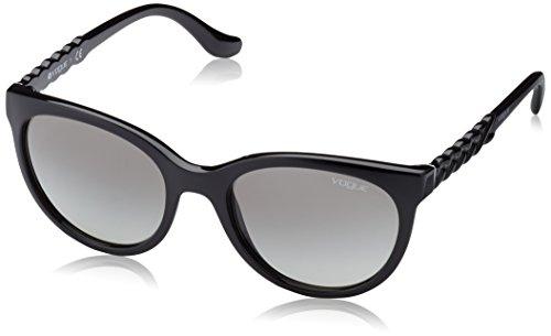 soleil Femme Black Noir Gray Gradient de Lunette Vogue wqEFOW
