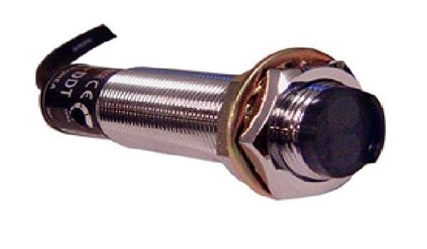 AUTONICS CR18 - 8DN capacitiva Sensor de proximidad, 12 V-24 V, 8 mm: Amazon.es: Amazon.es