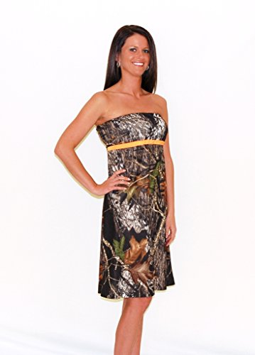 Camo Diva Zoey Camo Dress M Camouflage/Orange