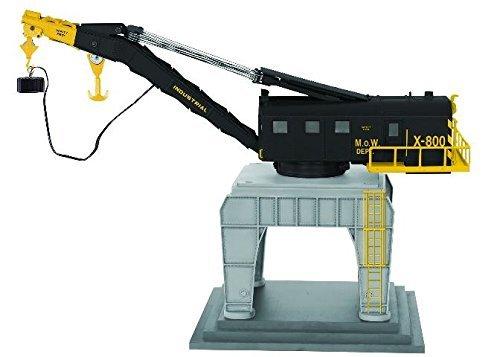 Lionel LNL682033 O Command Control Trackside Crane, -