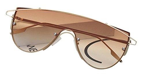 de Tide mujer de personal y ultravioleta uso para Brown Frame JYR Gold para sol polarizadas de hombre sol Aviador Gafas Gafas Anti Gafas ZvdqwYaY