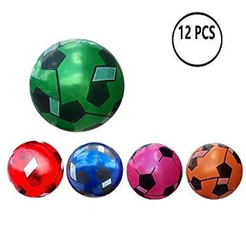 12 Pcs Juguete De Pelota De Playa De Balon 22CM (Fútbol de ...