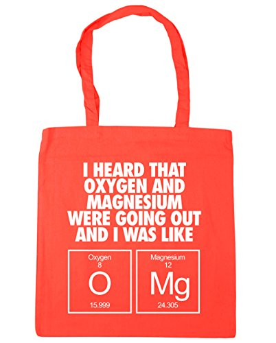 Bag That Mg Were and Shopping HippoWarehouse 10 O Gym I Beach I litres 42cm Coral Like Going Out x38cm Heard Magnesium Oxygen Tote Was and 4fEp6EwHq