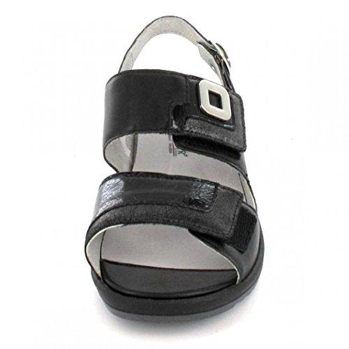 Waldlaufer - Sandalias de vestir para mujer negro