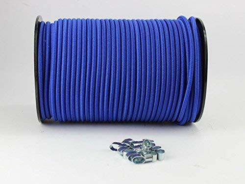 6mm Expanderseil blau 10m +10 Wü rgeklemmen Gummiseil Seil Klemmen Plane Unbekannt