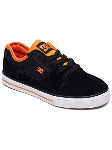 DC Boys' Tonik Low-Top Sneakers, 410 Black/Orange