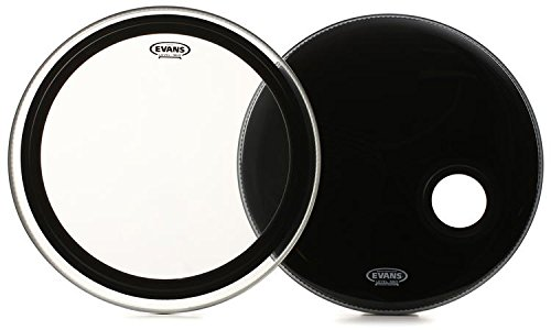 Evans Emad Bass Drum System Bundle - -