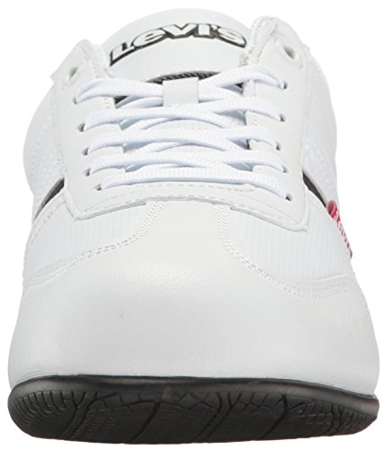 Levis Heren Solano Perf Ul Fashion Sneaker Wit / Zwart