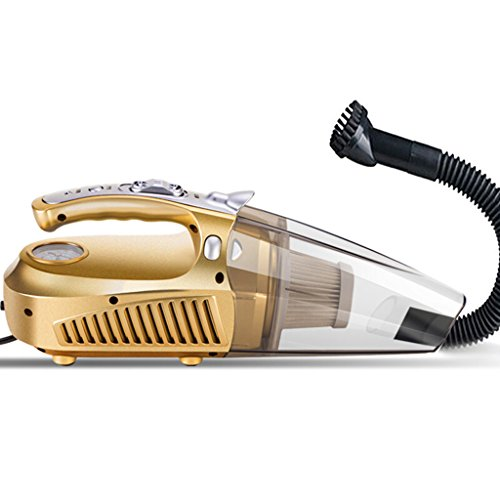 Vacuums Car Cleaner High Power Air Pump Car Cleaner Wired Car Home Handheld Multi-Function Wet and Dry ()