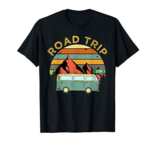 Road Trip 2019 Vacation Summer Squad Traveling Men Women T-Shirt (Best Friend Road Trip)