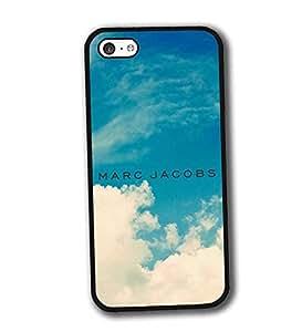 iPhone 5C Funda Carcasa Case Ultra Slim Vintage Printed Colourful Pattern Antipolvo Brands Logo Marc Jacobs Anti Scratch Hard Plastic Tapa for Girls