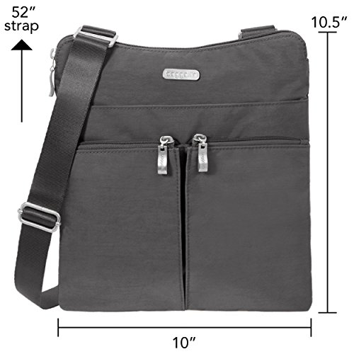 Bag Crossbody Baggallini Charcoal Nylon Classic Horizon 8AIw1Sq