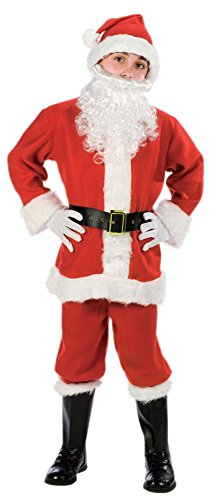 Fun World Costumes Baby Boy's Child Promotional Santa Suit, Red/White, Large -