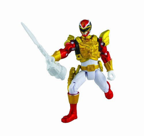 Power Rangers Metallic Force Ultra Action Figure, Red