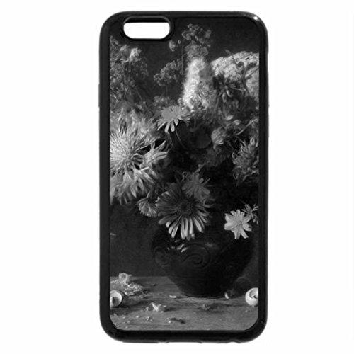 iPhone 6S Plus Case, iPhone 6 Plus Case (Black & White) - Decoration