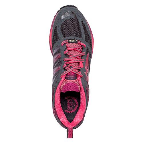 antracita de de mujer correr té GTX de Cascadia 11 Brooks para Zapatillas fresa frambuesa RzCBwqW