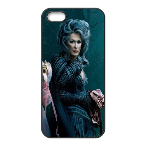 Into The Woods Meryl Streep Mackenzie Mauzy 99301 coque iPhone 4 4S cellulaire cas coque de téléphone cas téléphone cellulaire noir couvercle EEEXLKNBC25944