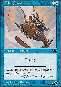 Magic: the Gathering - Talas Scout - Portal Second Age