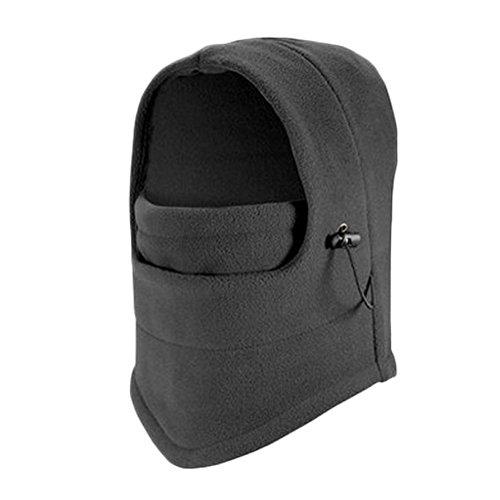 Emotionlin(TM) Unisex Adult Multi Thermal Warm Fleece Balaclava Hood Full Protected Face Mask Hat (Horse Mask Price)