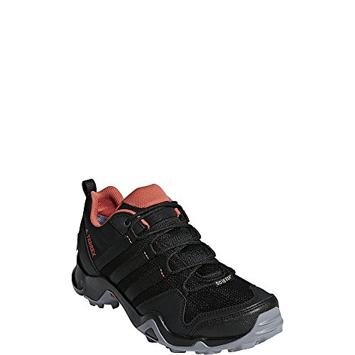 adidas Womens L Terrex Ax2r Ggtx Black, Black, Trace Scarlet
