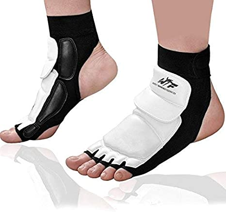 3XSports Ankle Foot Support Anklet Brace Pad Sock KickBoxing Thai Protector MMA
