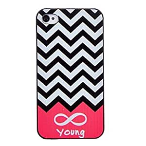 GJYLuminous Rose Fine Line Pattern Glows In The Dark PC Hard Case for iPhone 5/5S