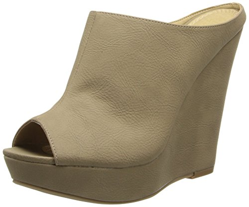 UPC 785807243620, Chinese Laundry Women's Meow Oil Wedge Sandal,Taupe,9 M US