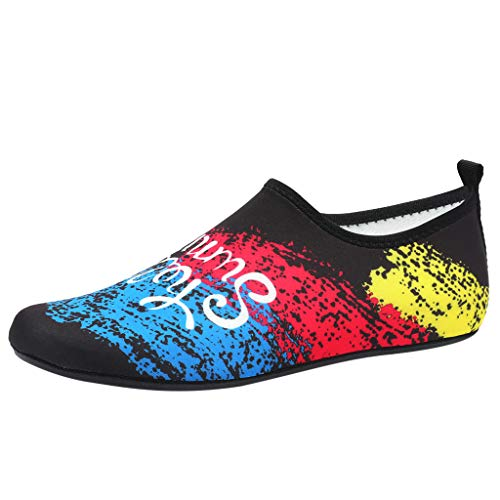 Men Women Water Sports Shoes Barefoot Quick-Dry Aqua Yoga Socks Slip-on Water Sports Shoes for Men & Women