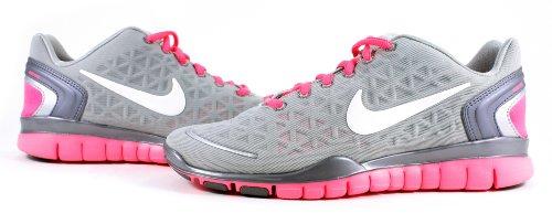 鉱夫プロフェッショナル廃止Nike Wmns Free TR Fit 2シルバーピンクフラッシュ女性用トレーニングシューズ487789 – 003
