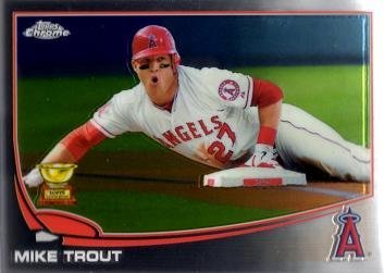 2013 Topps Chrome Trout Baseball