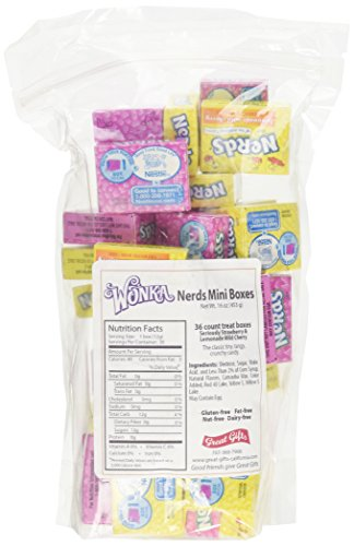 (Wonka Nerds Treat Size Lemonade and Srawberry Mix)
