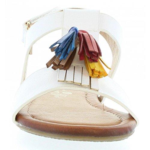 Sandalias de Niña URBAN 336050-B2040 WHITE