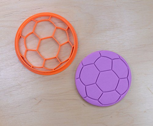 Soccer Ball Cookie Cutter (3 inches)