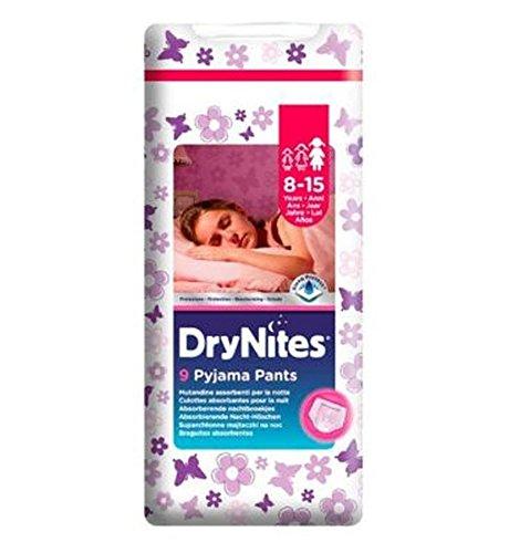 Huggies Drynites® Pyjama Bed Wetting Pants Girls 8-15 Years - 9 Pants by Huggies