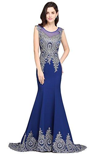 Abendkleid blau 32