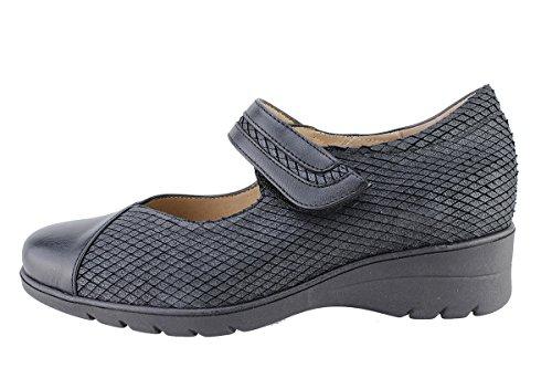 Negro Zapato Cómodo 175963 Mujer Mary Piesanto black jane YSwYrdq