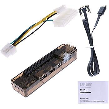 Amazon.com: Semoic PCIe PCI-E V8.4D EXP GDC - Estación de ...