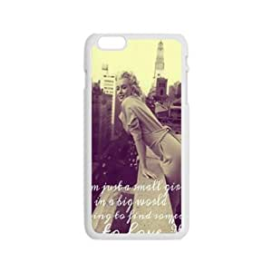 WEIWEI Marilyn Monroe 4 Days In New York Cell Phone Case for Iphone 6