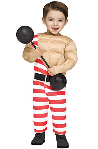 Children's Strong Man Costume (Carny Muscle Man Baby / Toddler Costume)