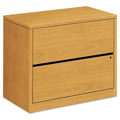 HON 2-Drawer Lateral File Cabinet, 36 by 20 by 29-1/2-Inch, Harvest
